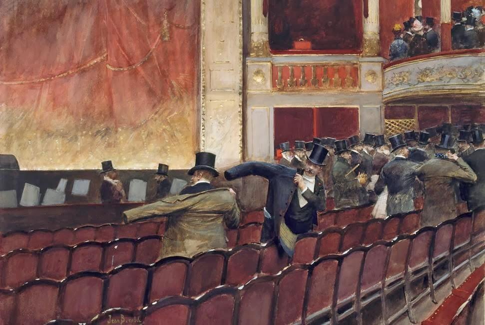 Jean-georges-Beraud-La-sortie-de-theatre