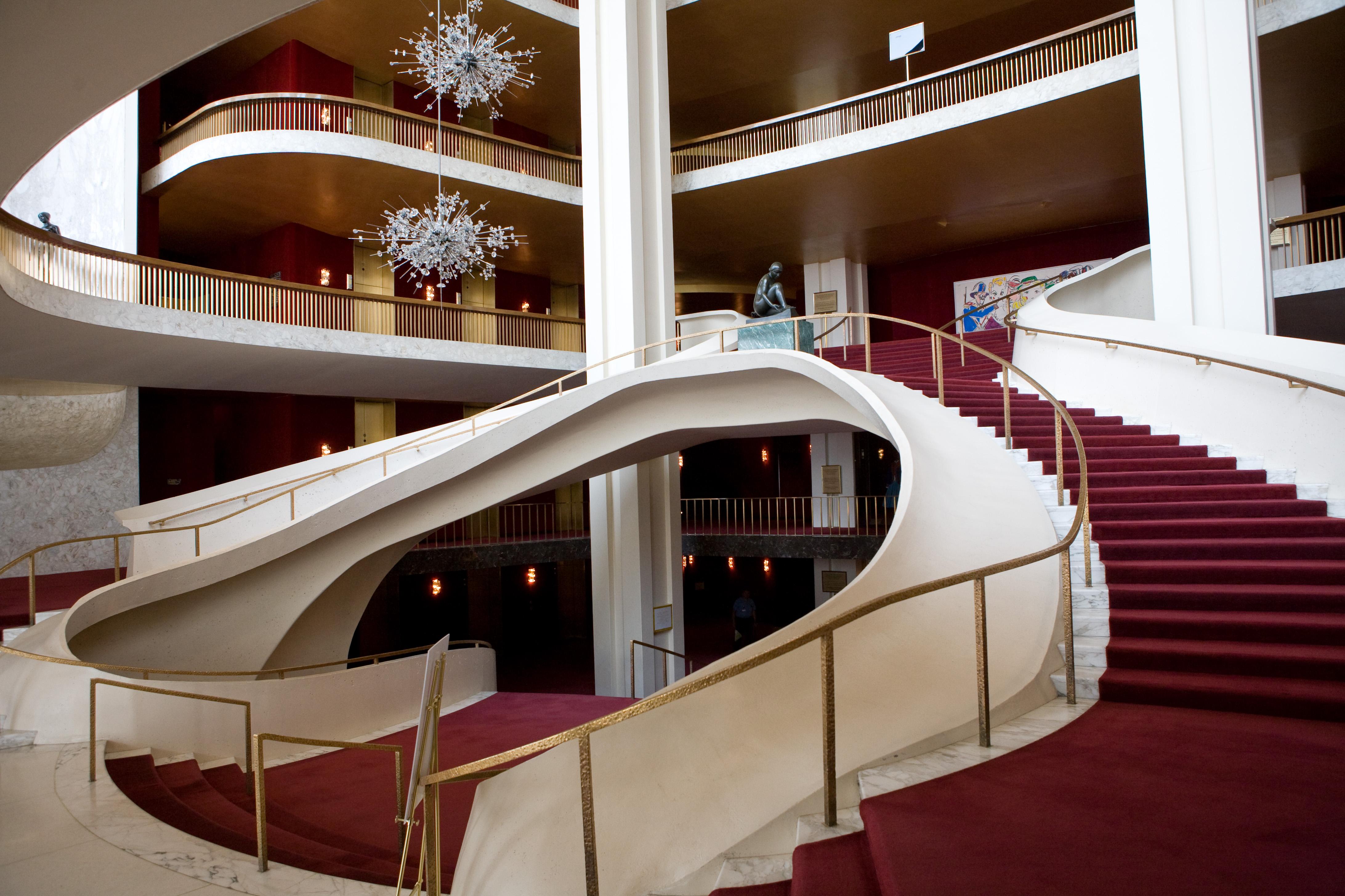Grand Foyer Xl : Metropolitan opera house l in casa