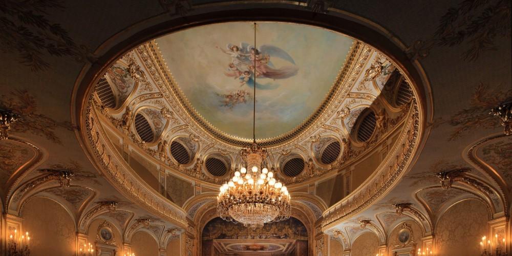 Theatre Imperial Napoleon III de Fontainebleau, Seine-et-Marne, France