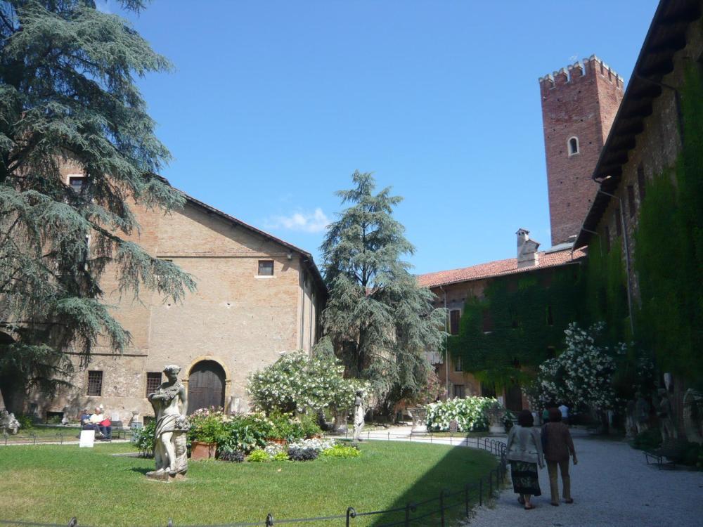 Teatro Olimpico giardini -Vicenza-