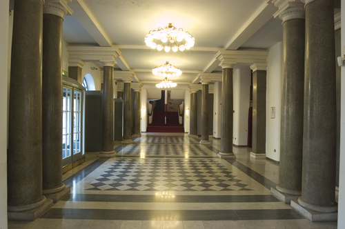 teatro argentina atrio