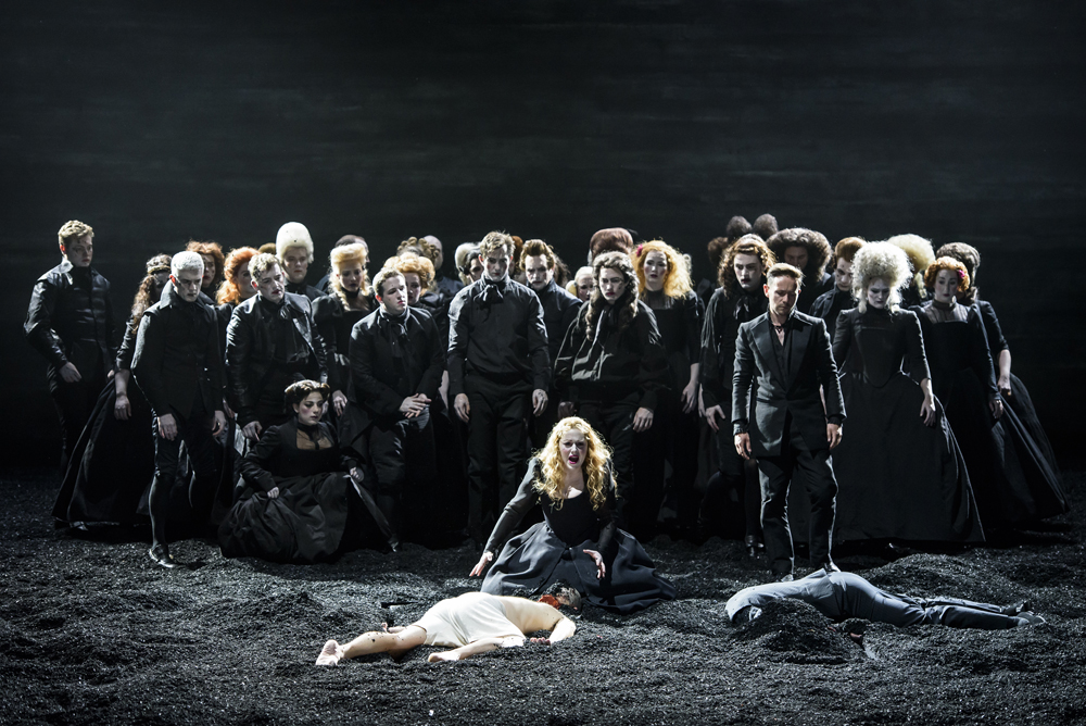 SAUL_Glyndebourne, Director; Barrie Kosky, Saul; Christopher Purves, David; Iestyn Davies, Merab; Lucy Crowe, Michal; Sophie Bevan, Jonathan; Paul Appleby, High Priest; Benjamin Hulett, Witch of Endor; John Graham_Hall,